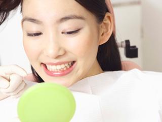 プロによる歯のクリーニング